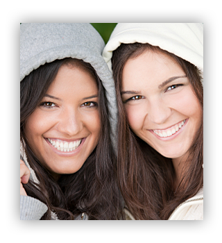 friends with white teeth, wilmington dentist